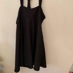 Unique vintage pinafore dress